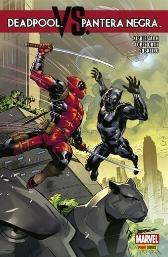 Capa: Deadpool vs. Pantera Negra 1