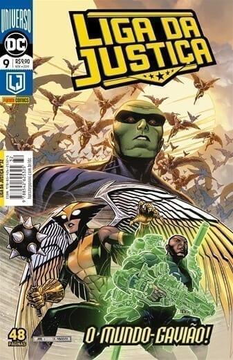 Capa: Liga da Justiça Panini 3ª Série - Universo DC Renascimento - 9 32