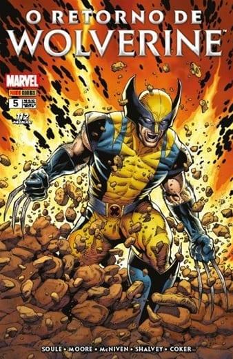 Capa: O Retorno de Wolverine 5