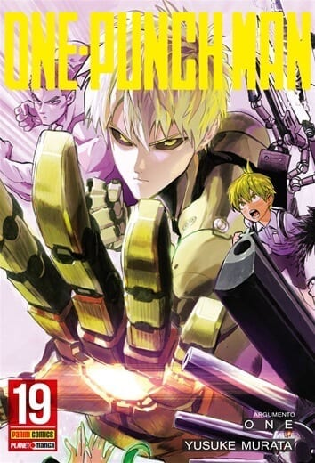 Capa: One Punch Man 19