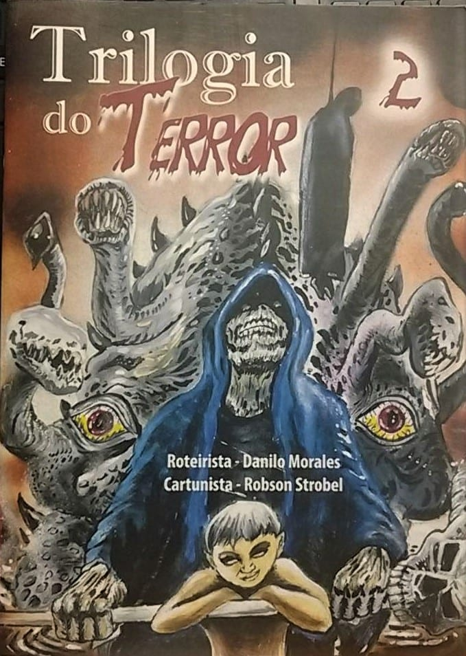 Capa: Trilogia do Terror 2