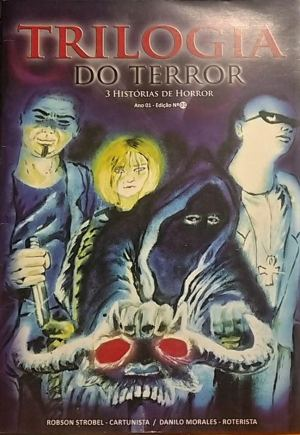 Capa: Trilogia do Terror 1
