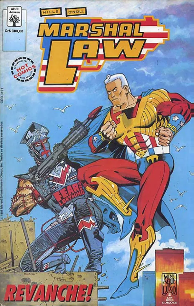 Capa: Marshal Law (Minissérie) 2