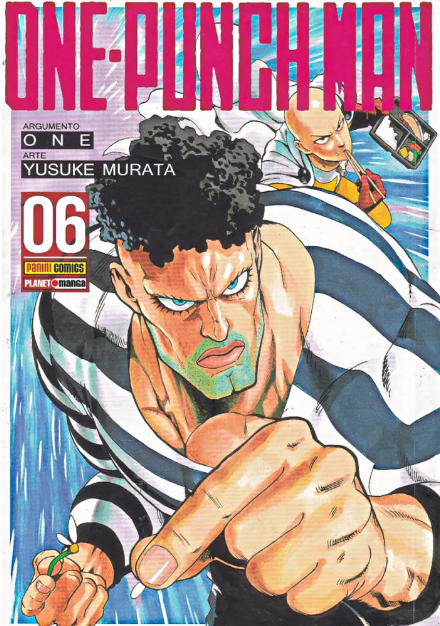 Capa: One Punch Man 6
