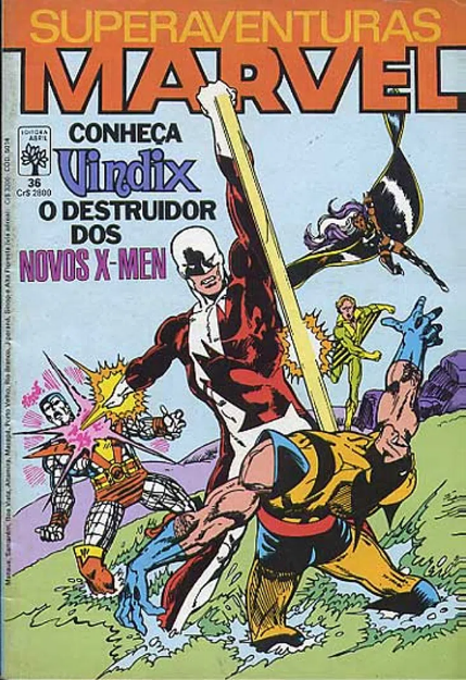 Capa: Superaventuras Marvel Abril 36