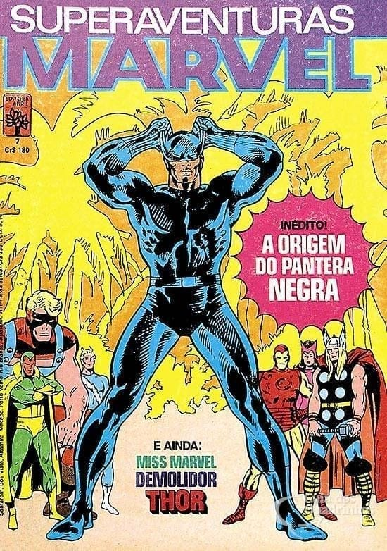 Capa: Superaventuras Marvel Abril 7