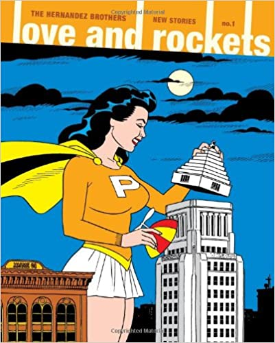 Capa: Love and Rockets (TP Importado) - New Stories 1