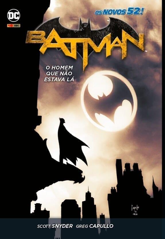Capa: Batman (Novos 52 - Capa Dura) - O Homem Que Não Estava Lá 4