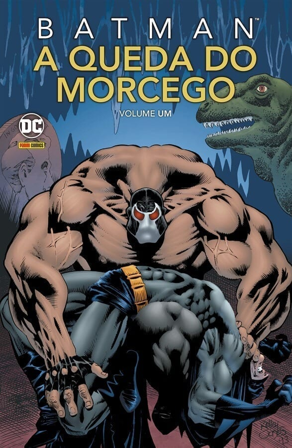 Capa: Batman: A Queda do Morcego 1