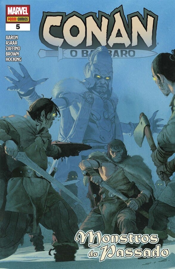 Capa: Conan, O Bárbaro (Panini) 5