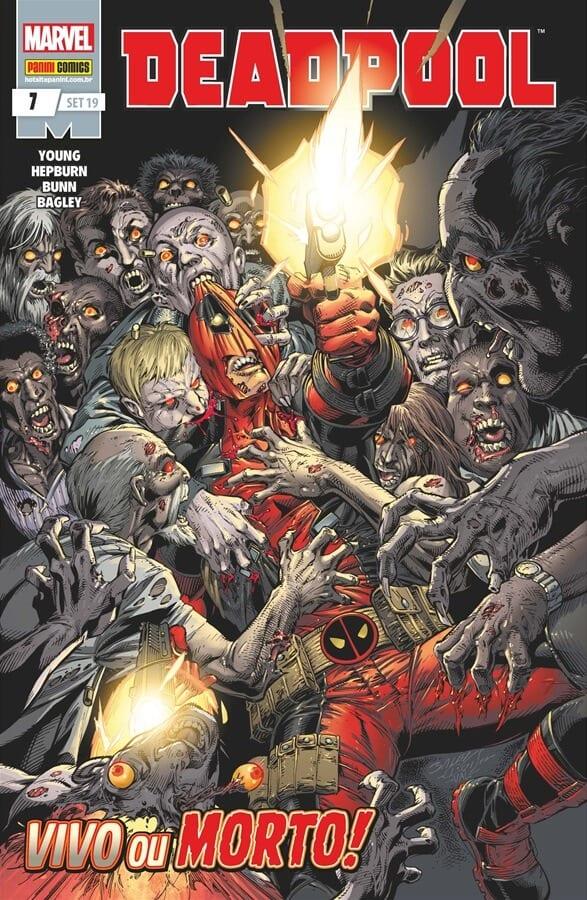 Capa: Deadpool - 5ª Série (Panini) 7