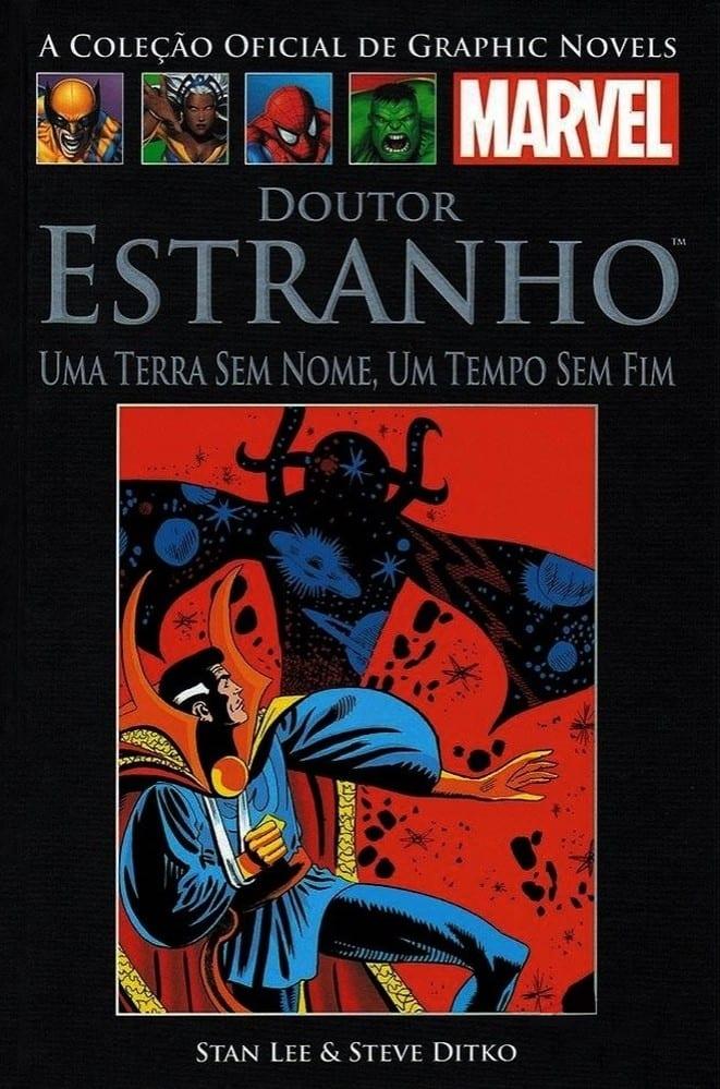 Capa: A Coleção Oficial de Graphic Novels Marvel - Clássicos (Salvat) - Doutor Estranho: Uma Terra Sem Nome, Um Tempo Sem Fim 3