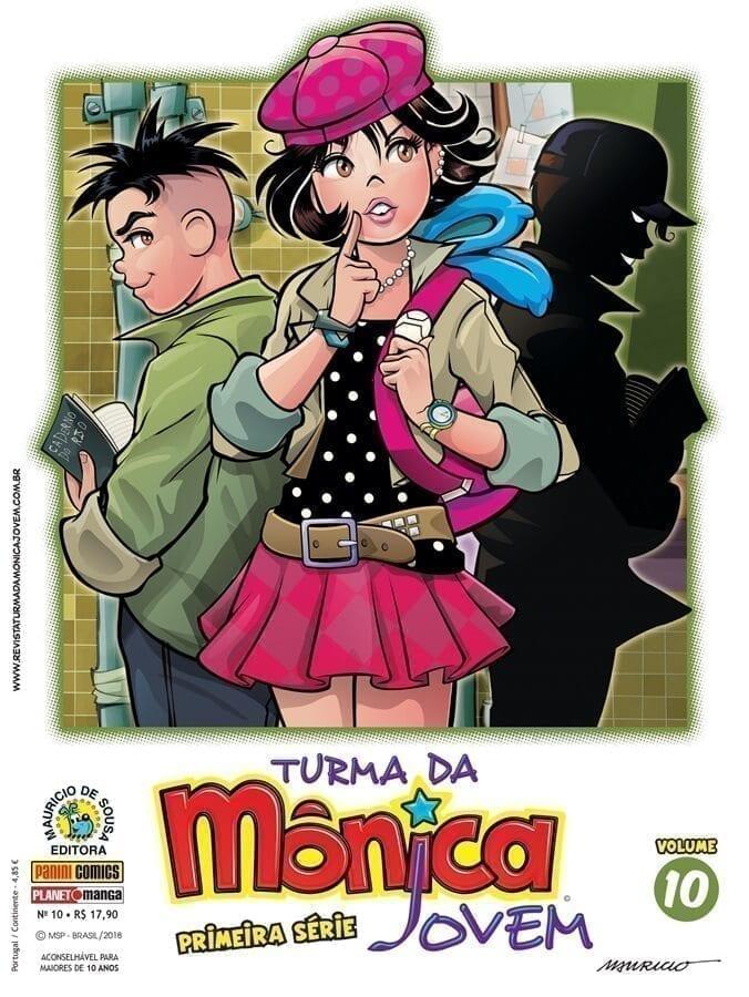 Capa: Turma da Mônica Jovem: Primeira Série 10