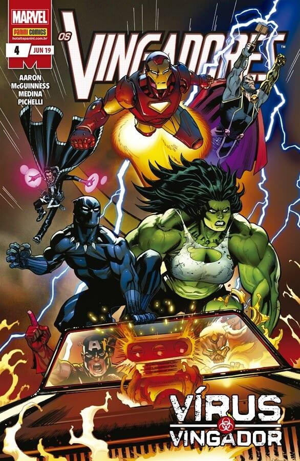 Capa: Os Vingadores - 3ª Série 4