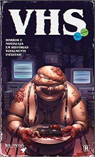 Capa: VHS - Vídeo Horror Show (HQ Coletânea) 1
