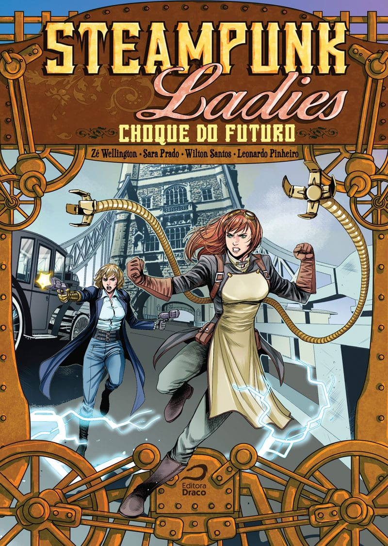 Capa: Steampunk Ladies - Choque do Futuro