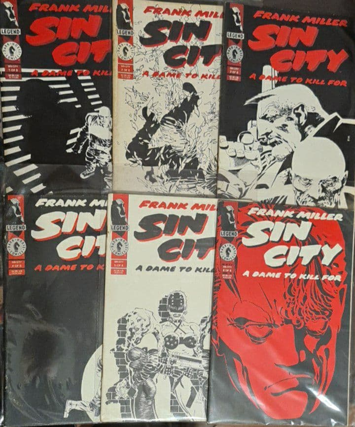 <span>Sin City – A Dame to Kill For (Importado) – Completo #1-6 0</span>